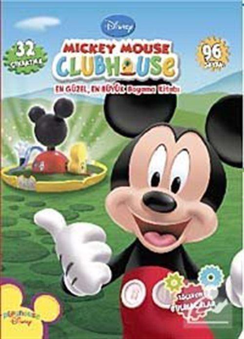 Mickey Mouse Clubhouse / En Güzel En Büyük Boyama Kitabı