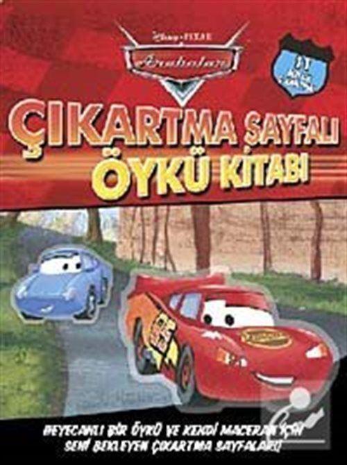 Arabalar Çıkartma Sayfalı Öykü Kitabı