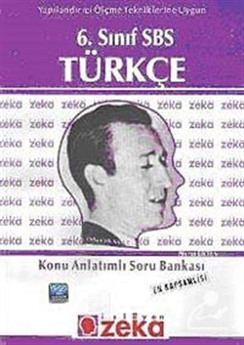6. Sınıf SBS Türkçe Konu Anlatımlı Soru Bankası