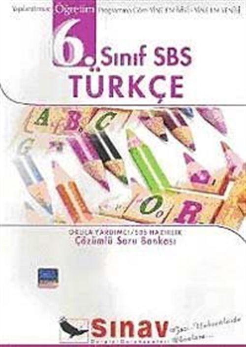 6. Sınıf SBS Türkçe Çözümlü Soru Bankası