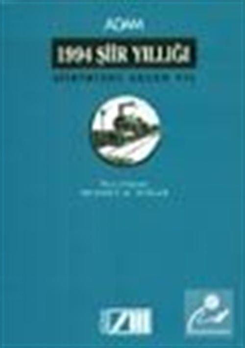 1994 Şiir Yıllığı Şiirimizde Geçen Yıl