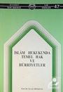 İslam Hukukunda Temel Hak ve Hürriyetler (1-I-17)