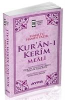 Kur'an-ı Kerim Meali (Metinsiz Meal) (Pembe) (Kod:Ayfa-109)