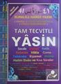 Fihristli Tam Tecvitli 41 Yasin (Rahle Boy)(Arapça-Türkçe Okunuşları-Türkçe Açıklamaları) (Yas35)