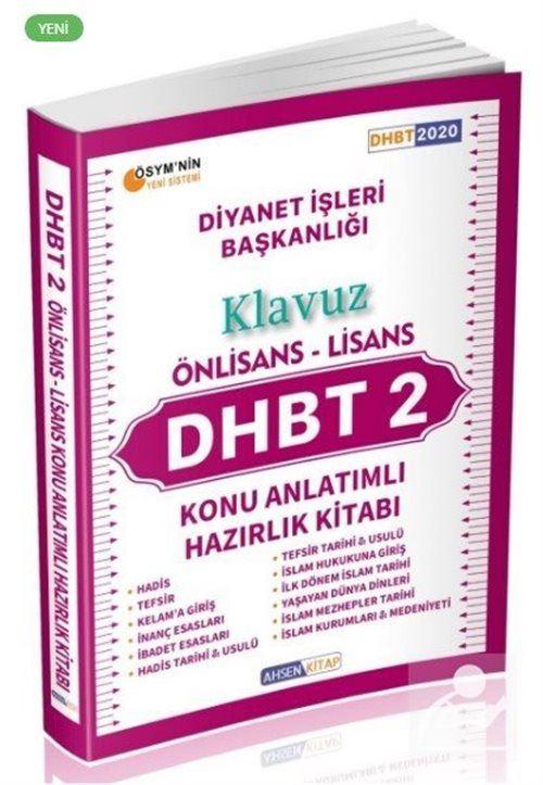2020 DHBT 2 Önlisans Lisans Konu Anlatımlı Klavuz Hazırlık Kitabı