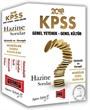 2018 KPSS Genel Yetenek Genel Kültür Hazine Sorular Çözümlü ve Cevaplı Modüler Soru Bankası