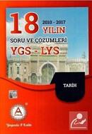 YGS-LYS Tarih 18 Yılın (2010-2017) Soru ve Çözümleri