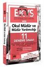 EKYS MEB Okul Müdür ve Müdür Yardımcılığı 11 Deneme Sınavı