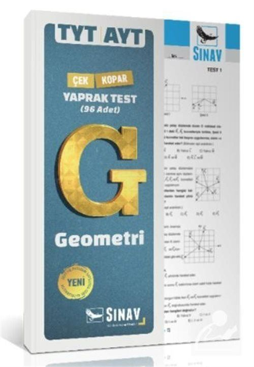 TYT AYT Geometri Çek Kopar Yaprak Test