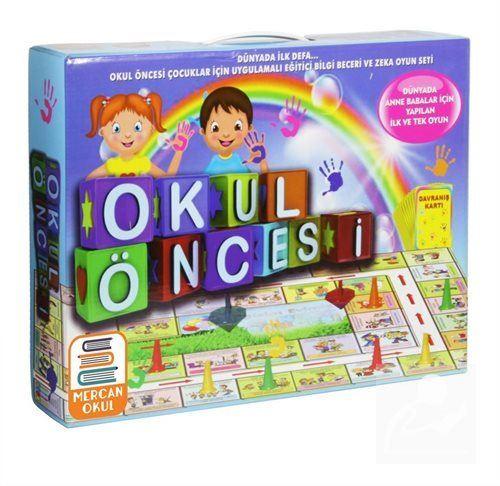Okul Öncesi Uygulamalı Bilgi Beceri ve Zeka Oyun Seti (Kod: 006)