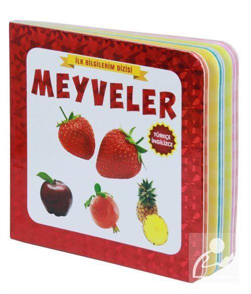 Meyveler (2+Yaş) (Türkçe, İngilizce)