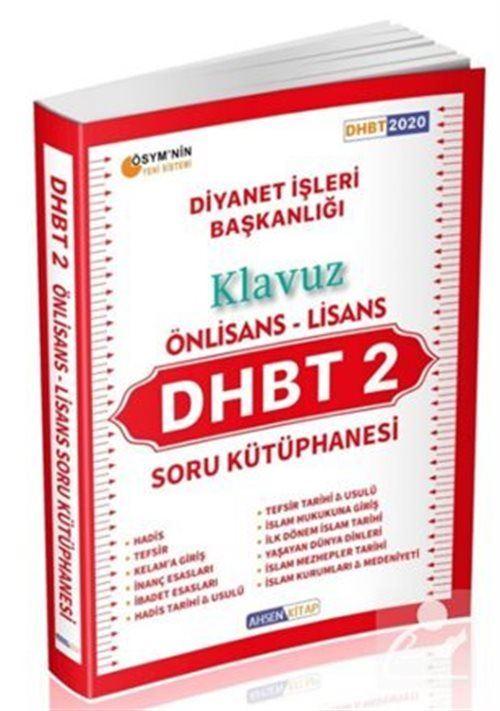 2020 DHBT 2 Klavuz Önlisans Lisans Soru Kütüphanesi