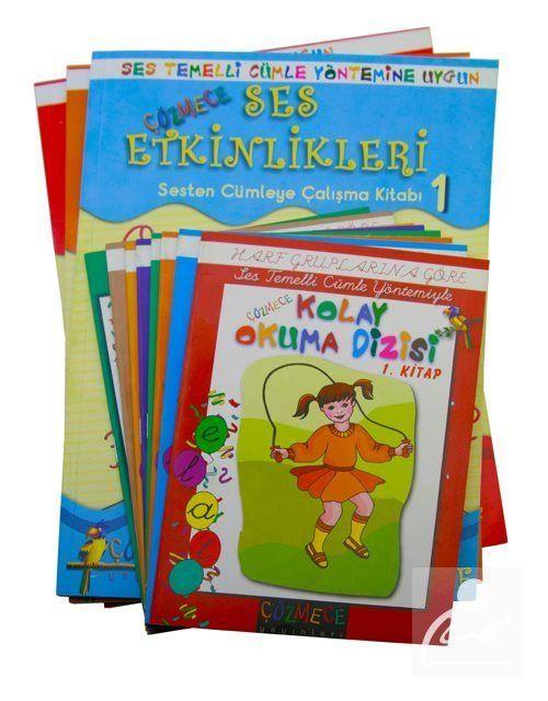 Çözmece Kolay Okuma Yazma Seti 1. Sınıflar İçin (11 Kitap Takım)