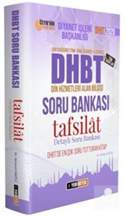 2020 DHBT Tafsilat Serisi Tüm Adaylar Soru Bankası