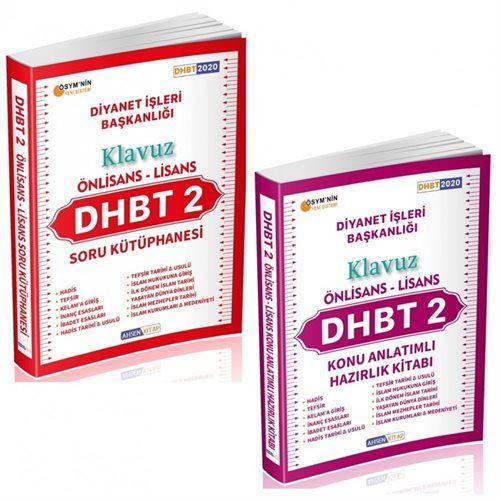 2020 DHBT 2 Önlisans Lisans Adayları İçin Klavuz Ful Set 2 Kitap