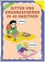 Boyamalı 40 Hadiste Ahlak ve Görgü Kuralları (Almanca) (Kod: 218)