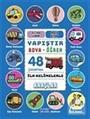 İlk Kelimelerle Araçlar- Yapıştır ve Boya Öğren Mavi Kitap 48 Çıkartma 3 Yaş Üzeri