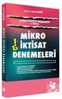 İktisat Deneme Serisinden 1. Kitap Mikro İktisat Denemeleri
