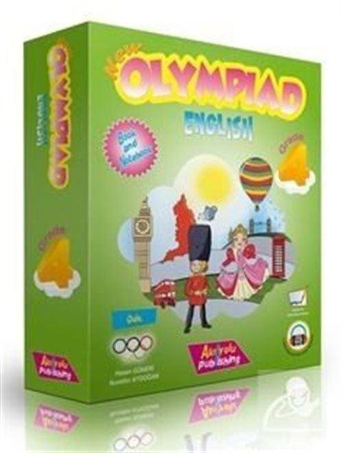 4. Sınıf Yeni Olimpiyat İngilizce (3'lü Eğitim Seti)