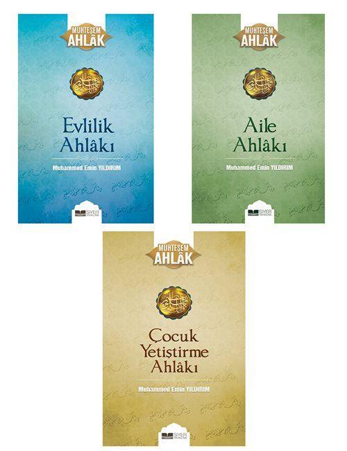 Muhammed Emin Yıldırım Muhteşem Ahlak Serisi 3 Kitap Saet