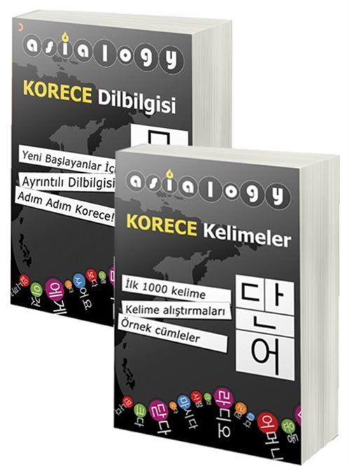 Asialogy Korece Kelimeler ve Dil Bilgisi 2 Kitap Set