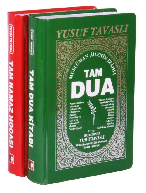 Tam Namaz & Tam Dua 2 Kitap Set Ciltli