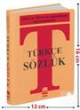 Türkçe Sözlük A'dan Z'ye TDK Uyumlu (Plastik Kapak, Çanta Boy)
