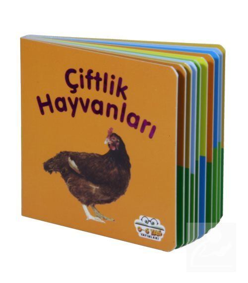 Çiftlik Hayvanları - Mini Karton Kitaplar