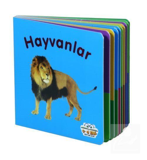 Hayvanlar - Mini Karton Kitaplar