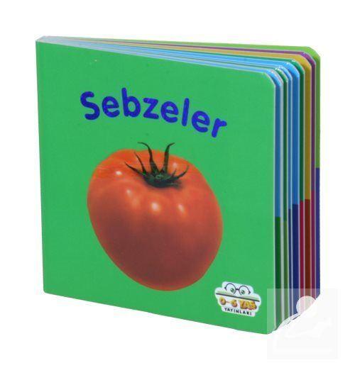 Sebzeler - Mini Karton Kitaplar