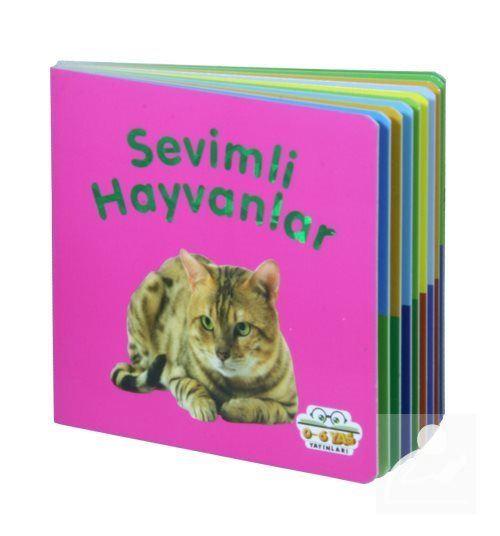 Sevimli Hayvanlar - Mini Karton Kitaplar