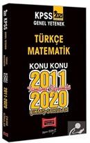 2021 KPSS Genel Yetenek Konu Konu Tamamı Çözümlü Çıkmış Sorular