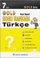7. Sınıf Türkçe Soru Bankası - Gold Yeni Nesil Serisi