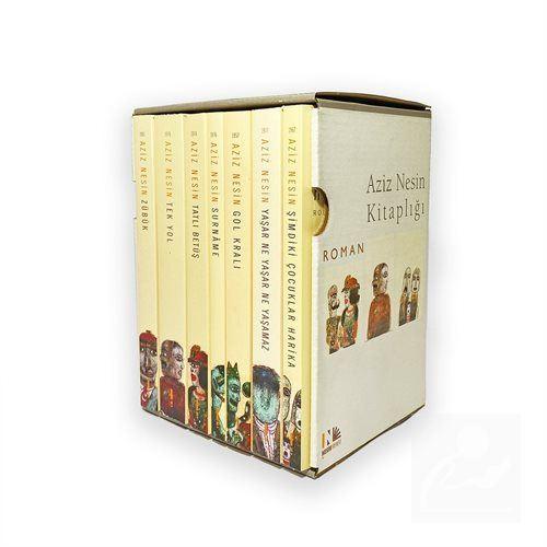 Aziz Nesin'in Bütün Romanları Seti (7 Kitap)