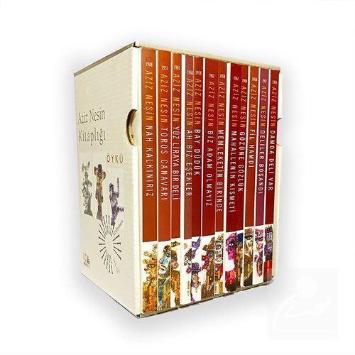 Aziz Nesin'den 12 Kitaplık Öykü Seti