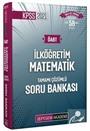 2021 KPSS ÖABT İlköğretim Matematik Tamamı Çözümlü Soru Bankası