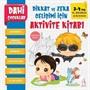 Dahi Çocuklar Aktivite Kitabı 3-4 Yaş / El Becerisi Ve Boyama