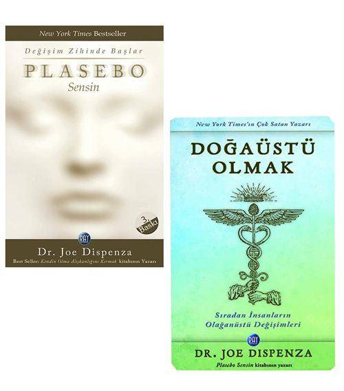 Joe Dispenza Kitapları (2 Kitap Set) Plasebo Sensin,Doğaüstü Olmak