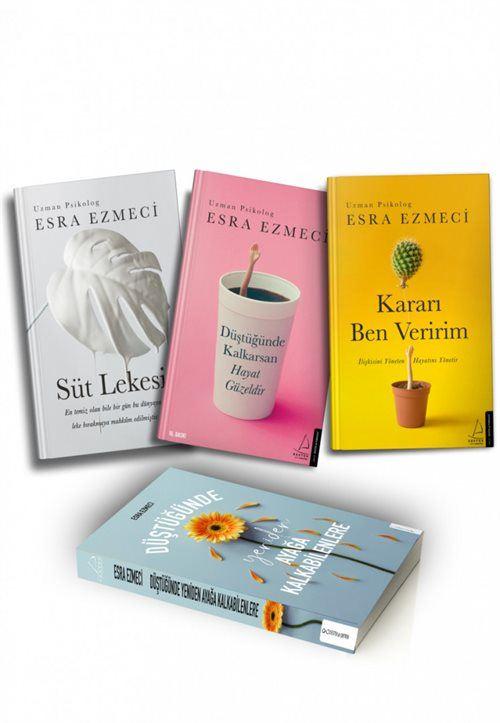 Uzman Psikolog Esra Ezmeci Kitapları 3 Kitap Set