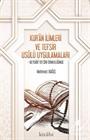 Kur'an İlimleri ve Tefsir Usulü Uygulamaları