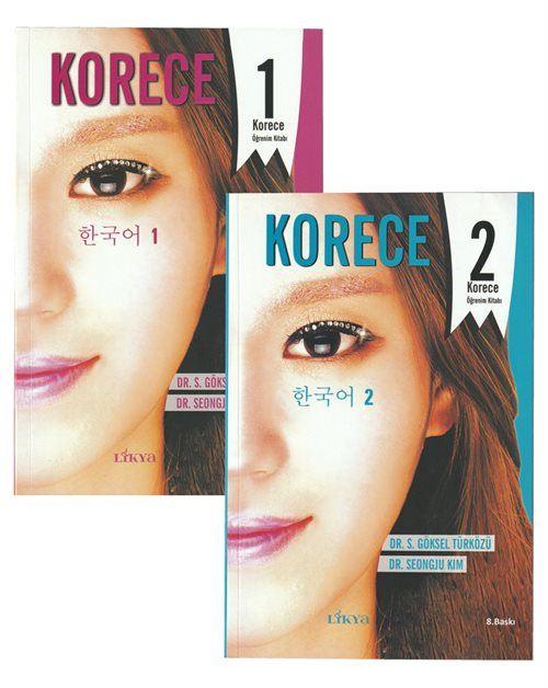 Korece Öğrenim Kitabı 2 Kitap Set