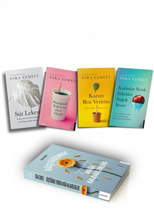 Uzman Psikolog Esra Ezmeci Kitapları 4 Kitap Set