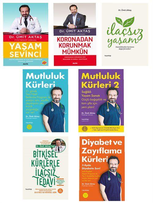 Dr. Ümit Aktaş Mutlu ve Sağlıklı Yaşam Kitapları 7 Kitap Set
