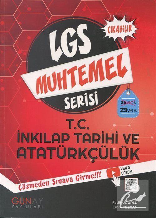 LGS Muhtemel Serisi - T.C. İnkılap Tarihi ve Atatürkçülük Soru Bankası