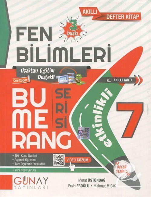 Bumerang Serisi - 7. Sınıf Etkinlikli Fen Bilimleri Soru Bankası