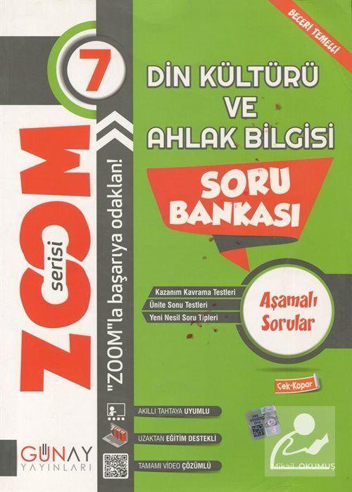 Zoom Serisi - 7. Sınıf Din Kültürü ve Ahlak Bilgisi Soru Bankası