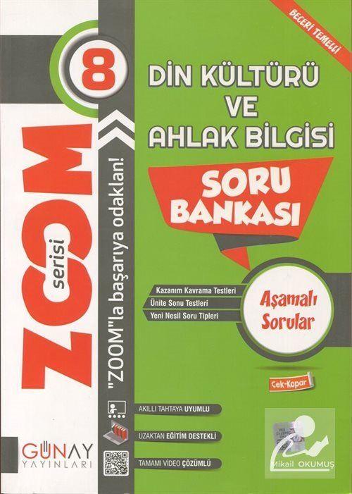 Zoom Serisi - 8. Sınıf Din Kültürü ve Ahlak Bilgisi Soru Bankası