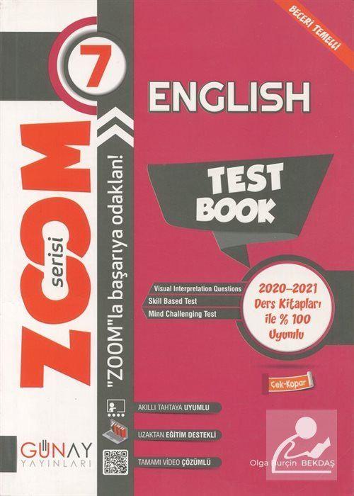 Zoom Serisi - 7. Sınıf İngilizce Soru Bankası