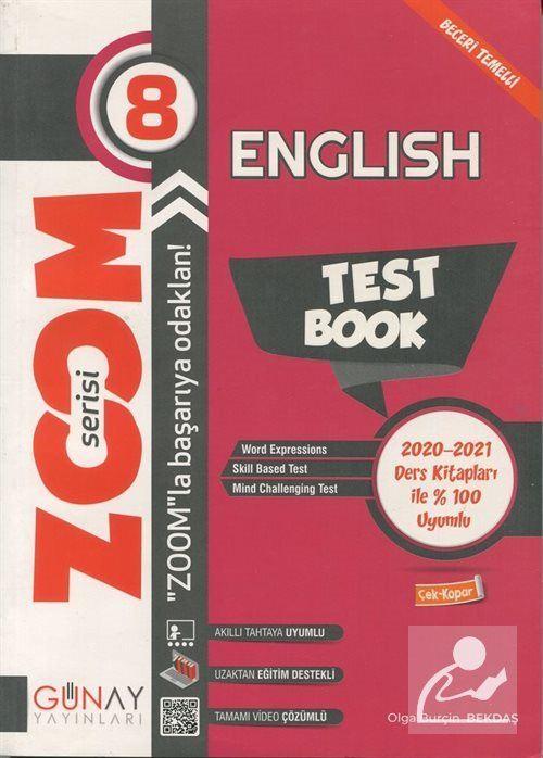 Zoom Serisi - 8. Sınıf İngilizce Soru Bankası
