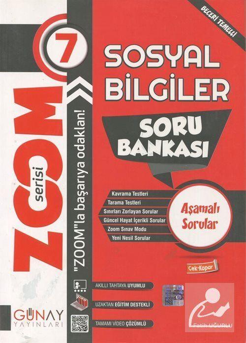 Zoom Serisi - 7. Sınıf Sosyal Bilgiler Soru Bankası
